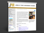 The Journal of Purdue Undergraduate Research